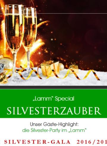 Silvesterparty im Lamm